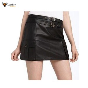 Sexy Butter Soft Women's LAMBS LEATHER MINI SKIRT All Sizes