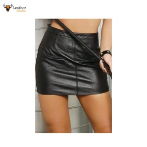 Sexy Dominatrix LAMBS LEATHER Skirt All Sizes